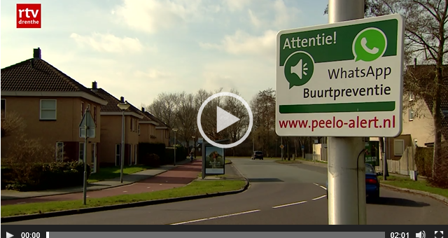 Whatsappend de buurt veilig houden in Assen mogelijk voor heel Drenthe